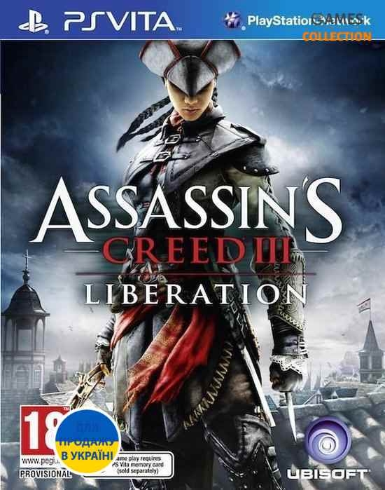 Assassins Creed 3: Liberation (PS VITA) Без коробки-thumb