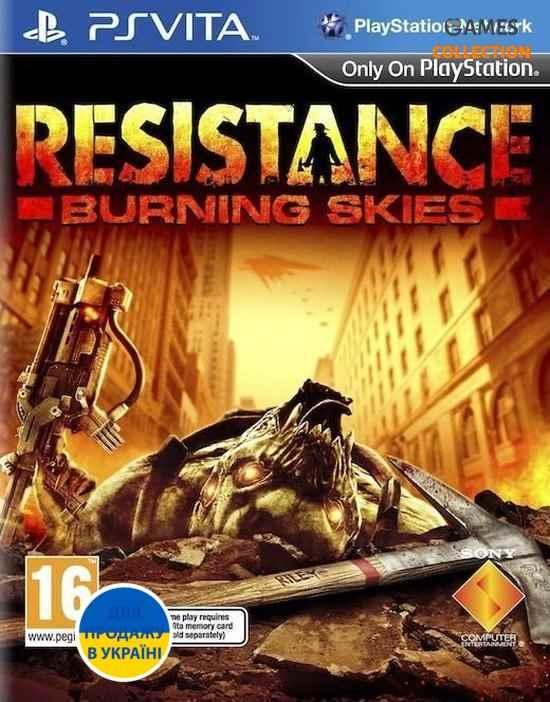 Resistance Burning Skies (PS Vita) (Без коробки)-thumb