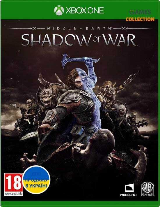 Middle Earth: Shadow of War (XBox One) Б/У-thumb