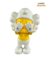 Kaws x The Smurf Companion Yellow (21см)-thumb