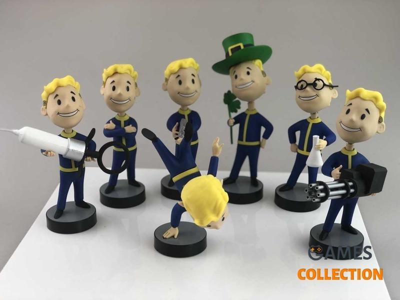 Фигурки Fallout Vault Boy Коллекция 7 Персонажей-thumb