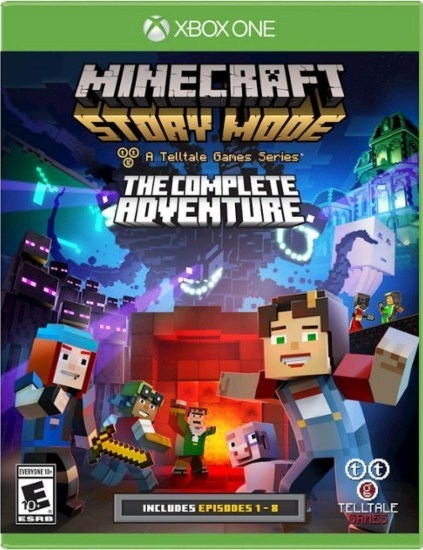 Minecraft: Story Mode – The Complete Adventure (Xbox One)-thumb
