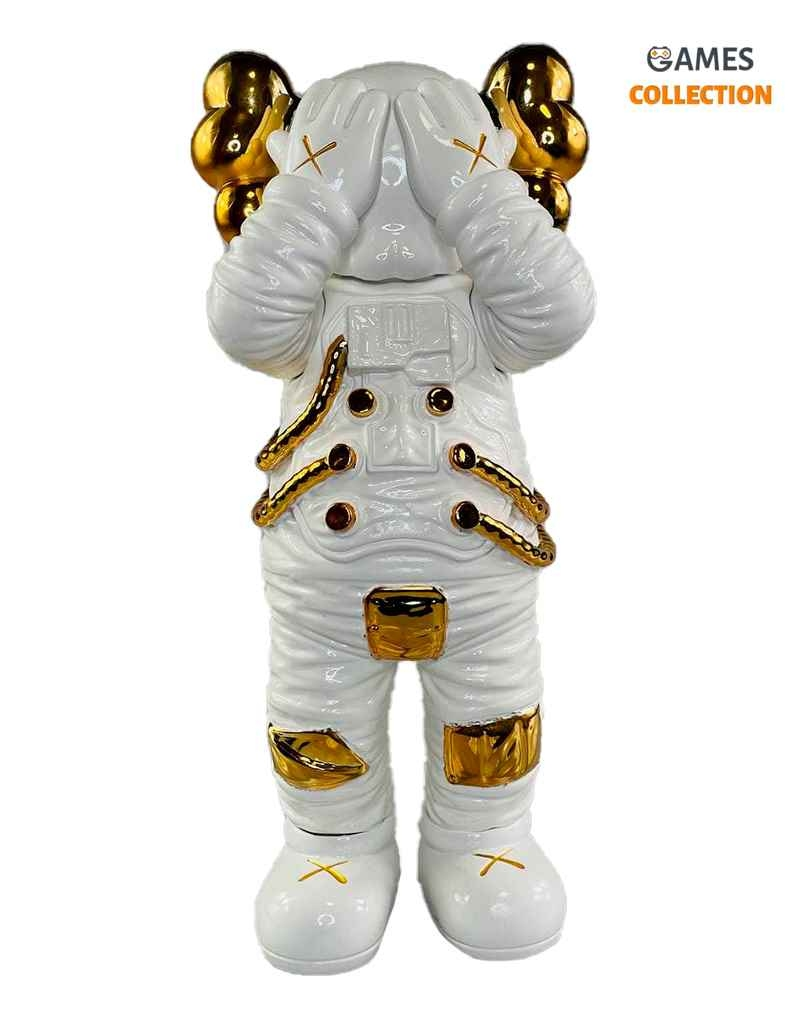 KAWS Holiday Space Figure White/Gold (30см)-thumb
