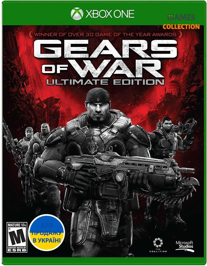 Gears of War: Ultimate Edition (Xbox One) Б/У-thumb