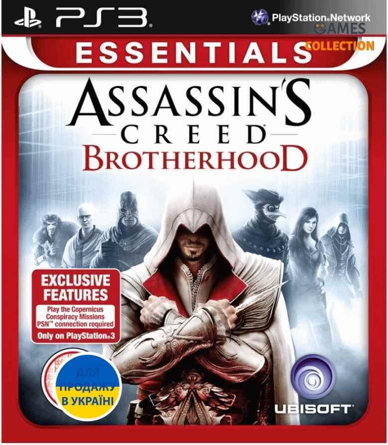 Assassins Creed: Brotherhood (ESN) (PS3) (Русская версия)-thumb