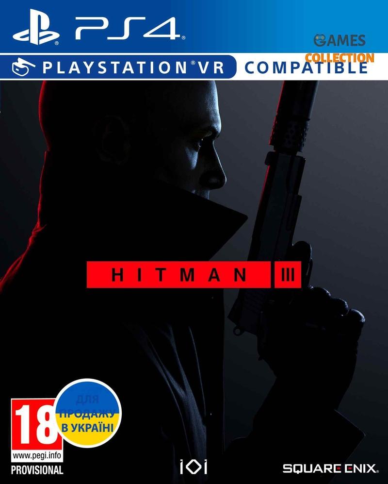Hitman III Standard Edition (PS4) Русская Версия-thumb