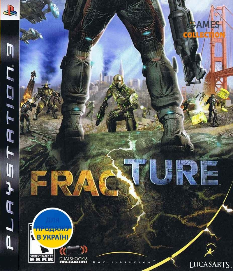 Fracture (PS3) Б/У-thumb