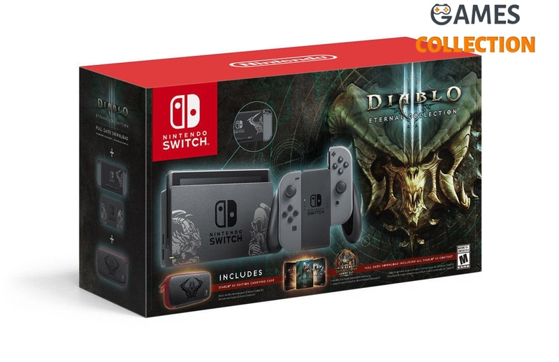 NINTENDO SWITCH DIABLO III LIMITED EDITION + ЧЕХОЛ DIABLO III + ИГРА DIABLO III:ETERNAL COLLECTION (РУССКАЯ ВЕРСИЯ)-thumb