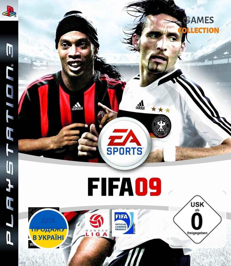 FIFA 09 (PS3) Б/У-thumb