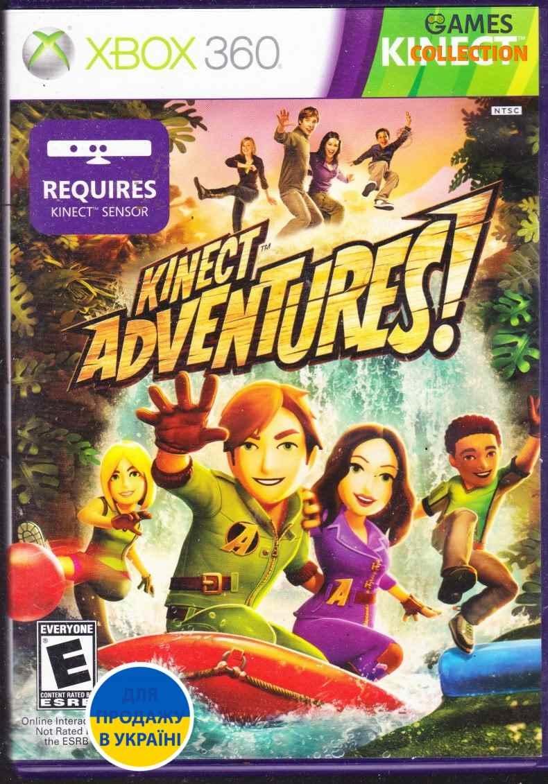 Kinect  Adventures (XBox 360) (Б/У)-thumb