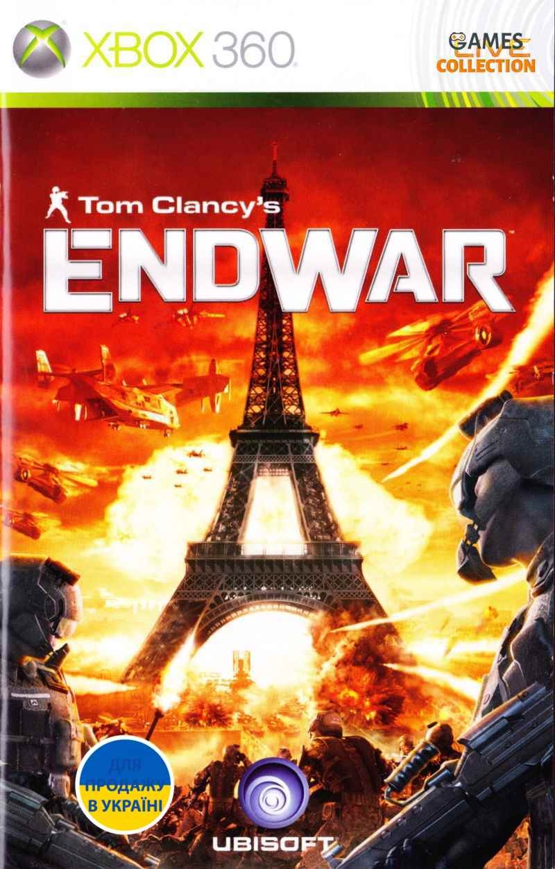 Tom Clancy's EndWar (XBOX360)-thumb
