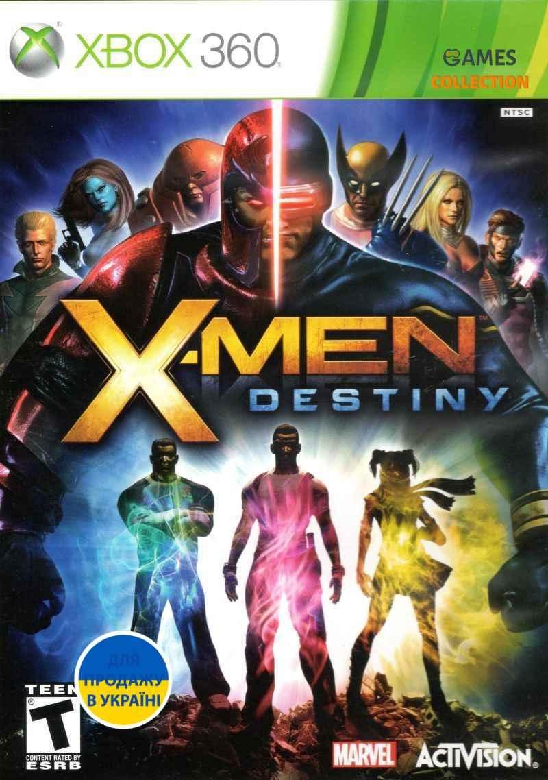 X-Men Destiny (XBOX360)-thumb
