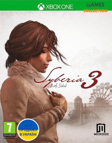 Syberia 3 (XBox One)-thumb