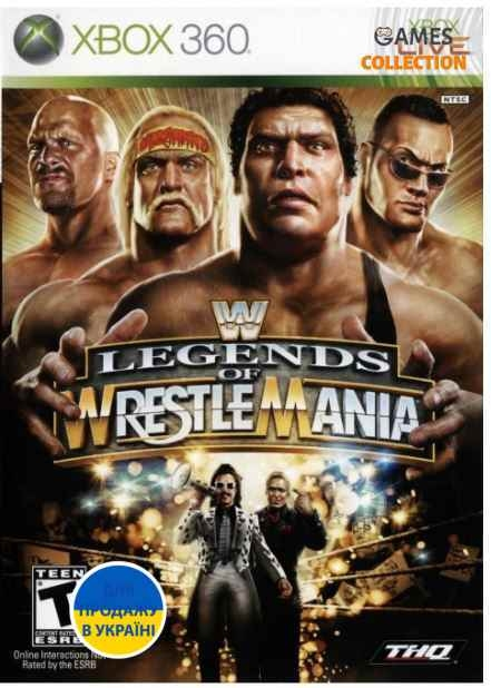 WWE Legends of Wrestle Mania (XBOX360)-thumb