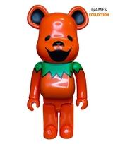 Bearbrick Halloween (Оранжевый) Фигурка 1000% (70см)-thumb