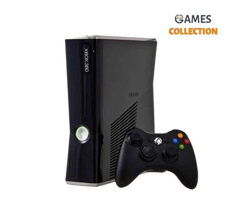 XBOX 360 Slim 4GB+320GB Freebot Б.У (XBOX 360)-thumb