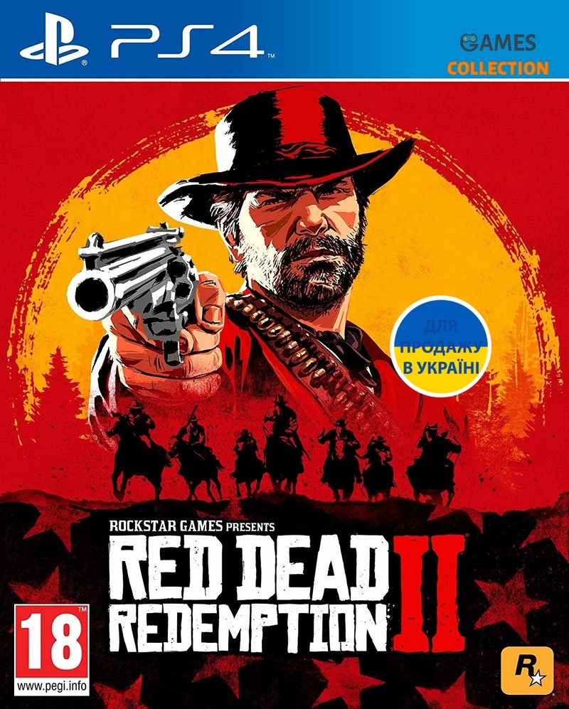 Red Dead Redemption 2 (PS4) Б/У-thumb