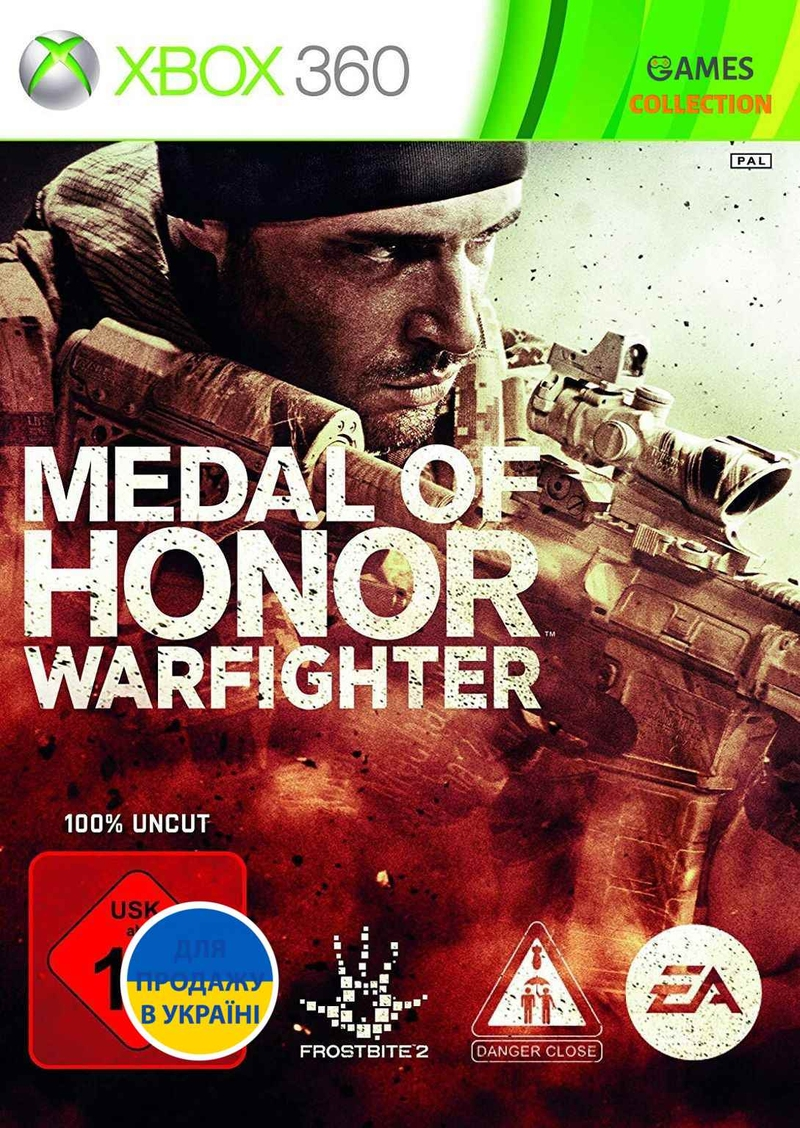 Medal of Honor: Warfighter (XBOX360) Б/У-thumb