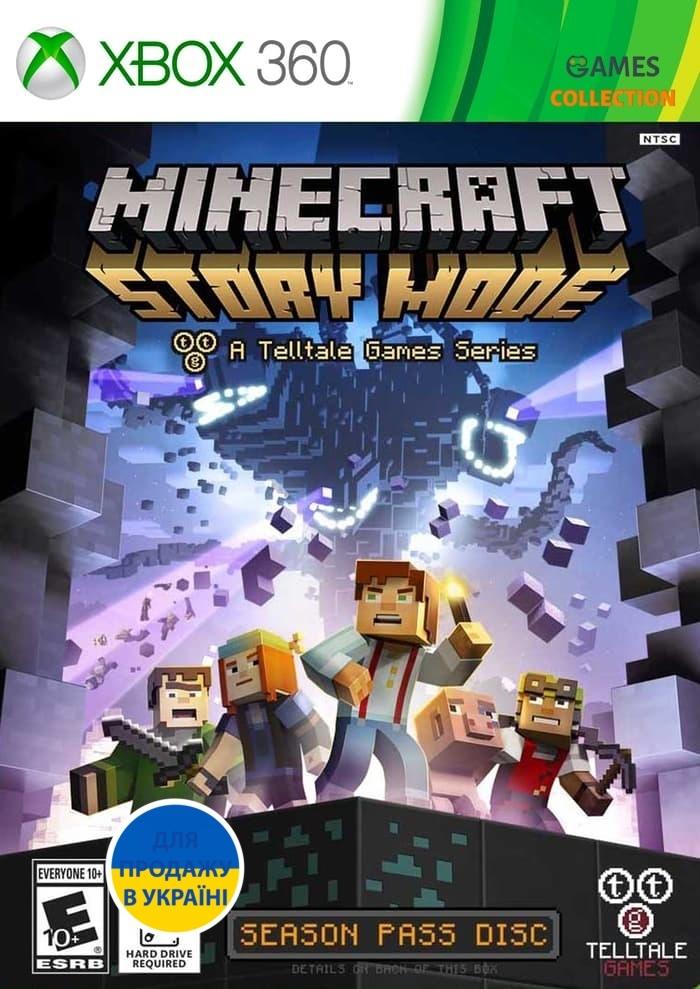 Minecraft: Story Mode (XBOX 360)-thumb
