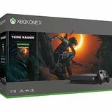 Xbox One X 1TB Shadow of the Tomb Raider Bundle-thumb