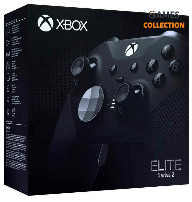 Xbox One Elite Controller v2 Black (Джойстик)-thumb