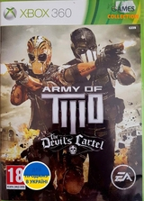Army of Two: The Devil's Cartel (XBox 360) б. у.-thumb