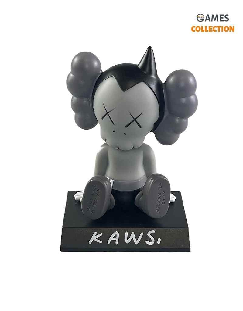 KAWS Astro Boy Toy Car Grey (13см)-thumb