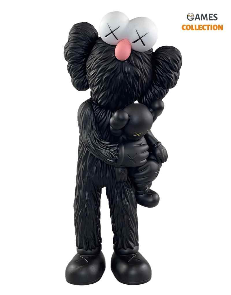 KAWS TAKE (Black/Black) 32см-thumb