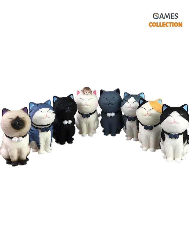 Фигурки Котиков с мышкой 12см-thumb