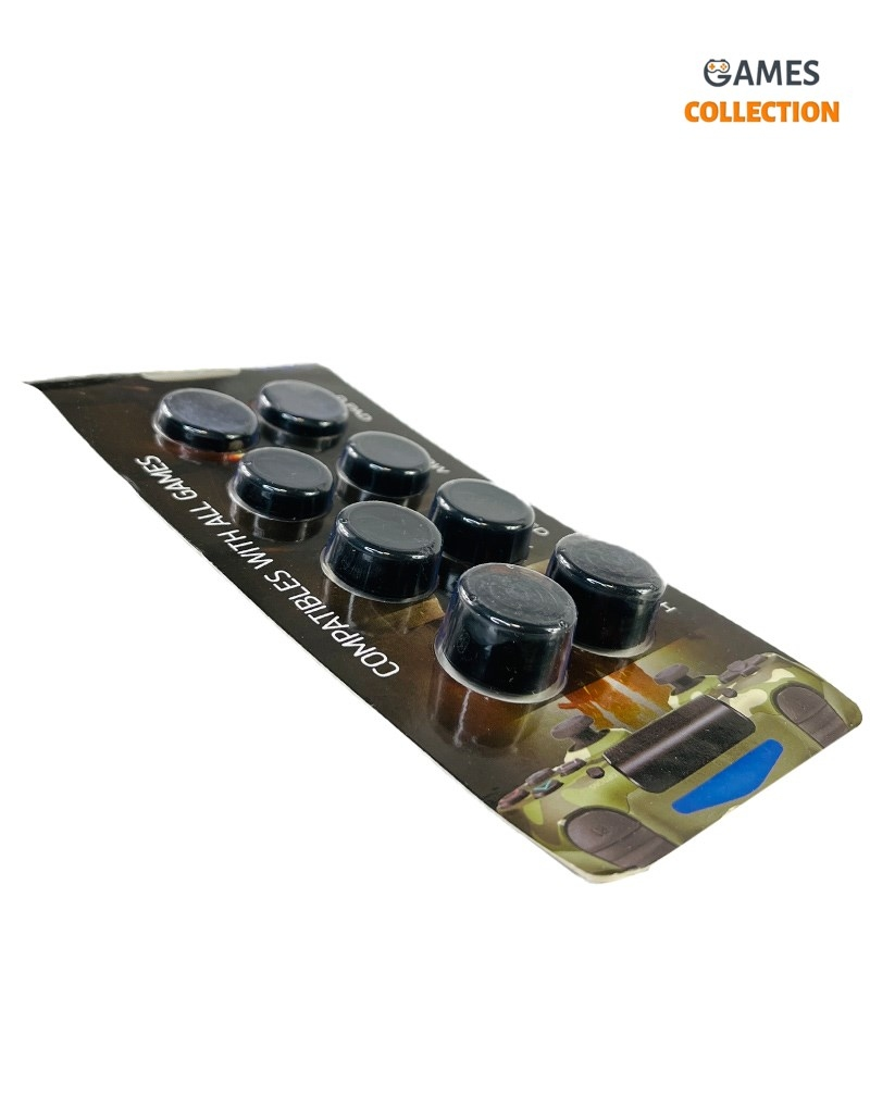 Стики Универсальные 4 вида для Джойстика PS5/PS4 (Черные)-thumb