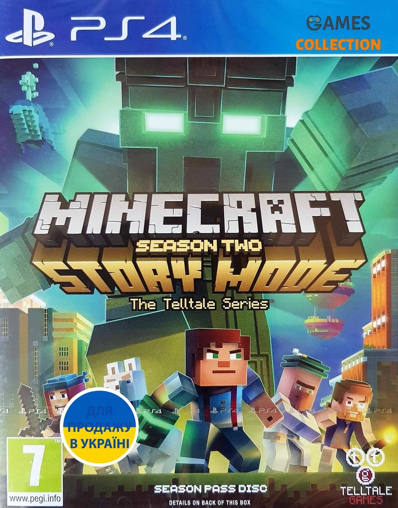 Minecraft Story Mode – Season 2 Pass Disc (PS4)-thumb