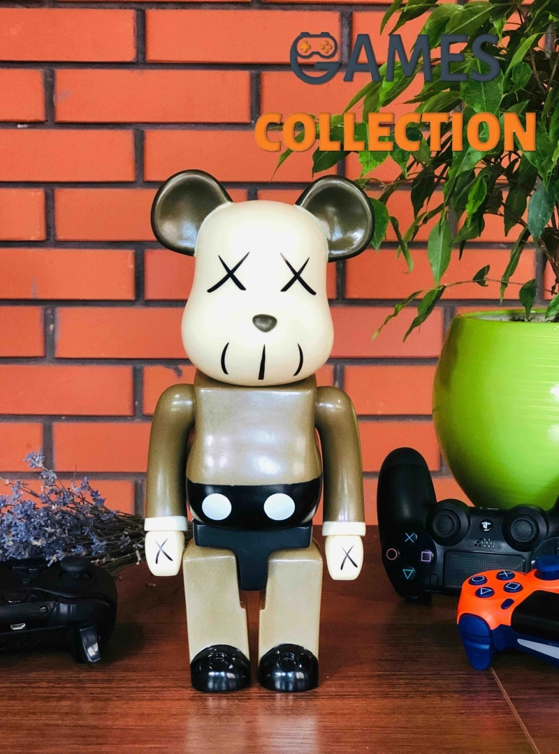 Bearbrick KAWS Brown 400% (28 см)-thumb