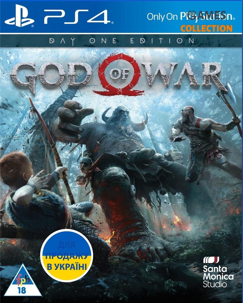 God of War (PS4) Б/У-thumb