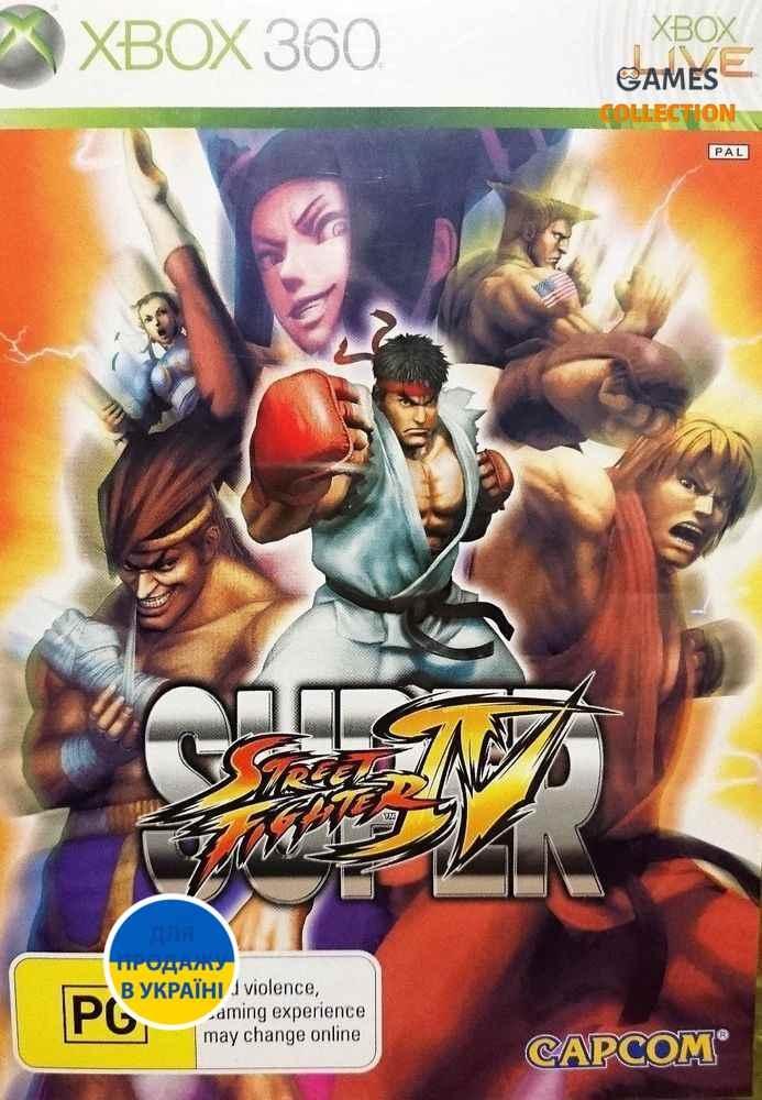 Super Street Fighter IV (XBOX360)-thumb