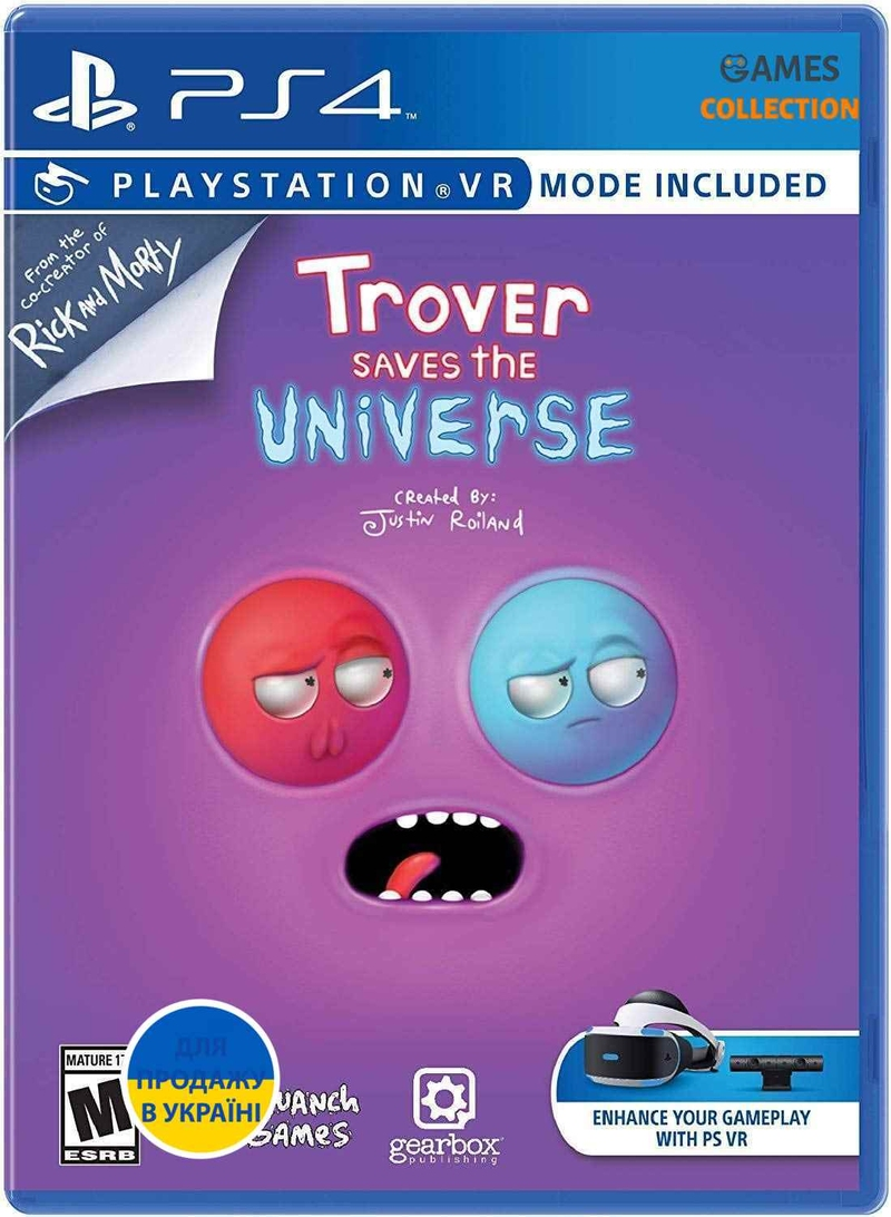 Trover Saves the Universe (PS4)-thumb