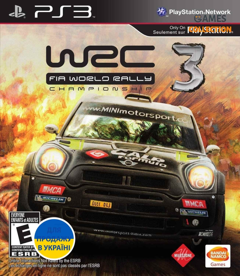 WRC 3: FIA World Rally Championship (PS3) Б/У-thumb