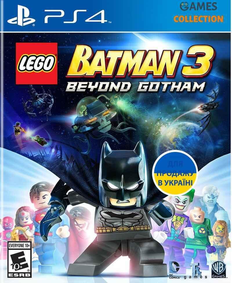 LEGO Batman 3: Beyond Gotham (PS4)-thumb