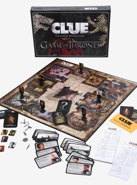 Настольная игра Clue (Game of Thrones)-thumb