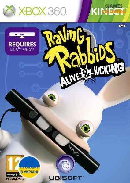 Raving Rabbids: Alive & Kicking(XBOX360)-thumb