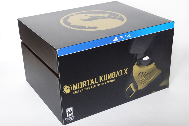 The Mortal Kombat X: Kollector's Edition by Coarse sony (PS4)-thumb