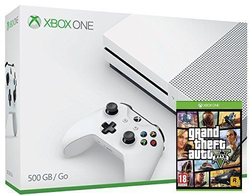 XBOX ONE S 500 GB (GTA 5)-thumb