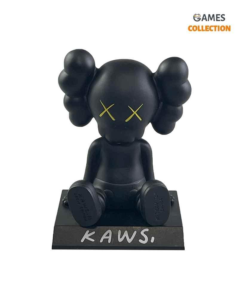 KAWS COMPANION Toy Car Black (13см)-thumb