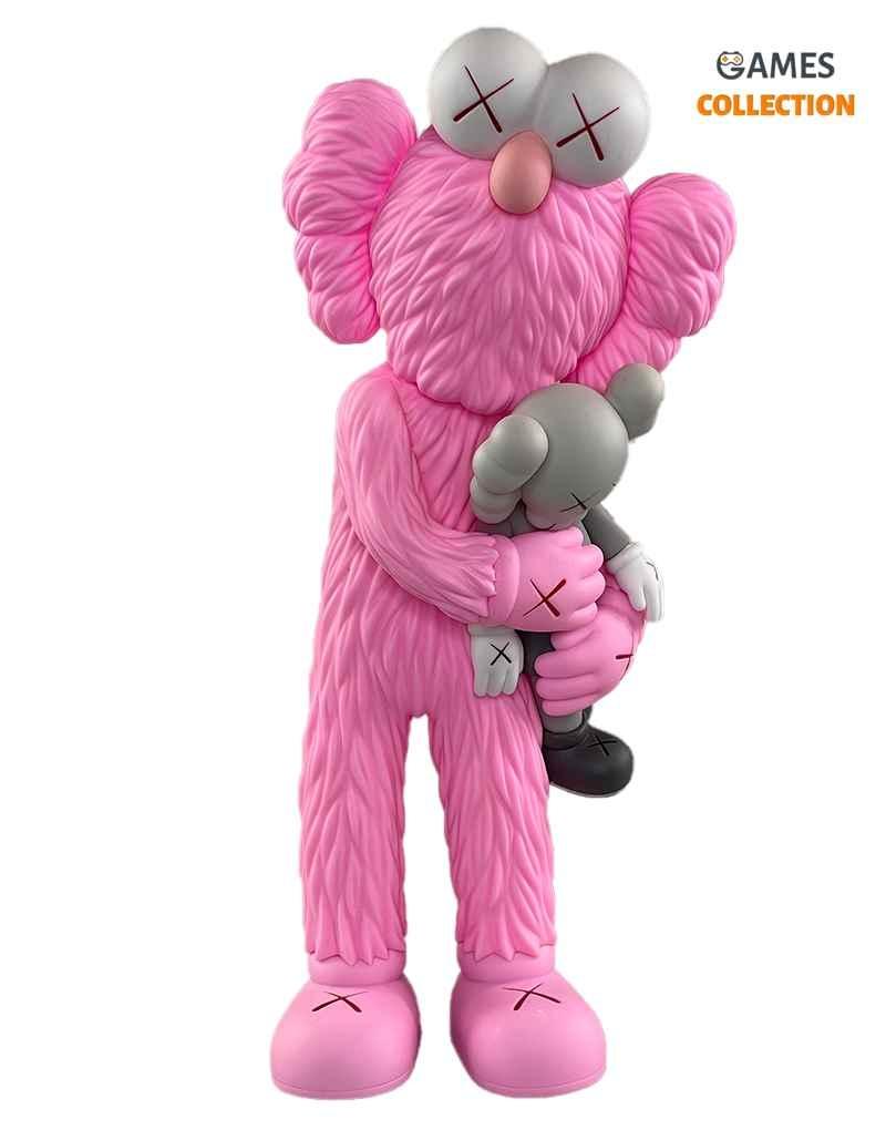 KAWS TAKE (Pink/Grey) 32см-thumb