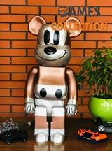Bearbrick x Undefeated x Disney Mickey 1000% (70см)-thumb