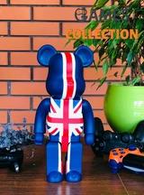 Bearbrick UK Flag 400% (28 см)-thumb