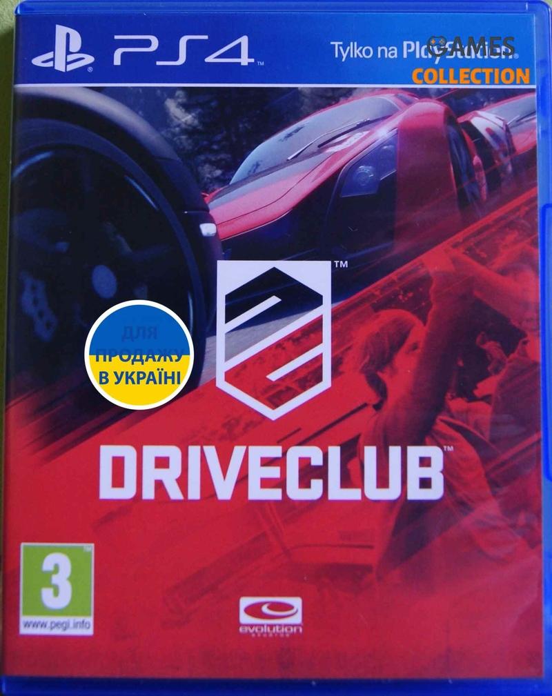 DriveClub (PS4) (Русская версия)-thumb