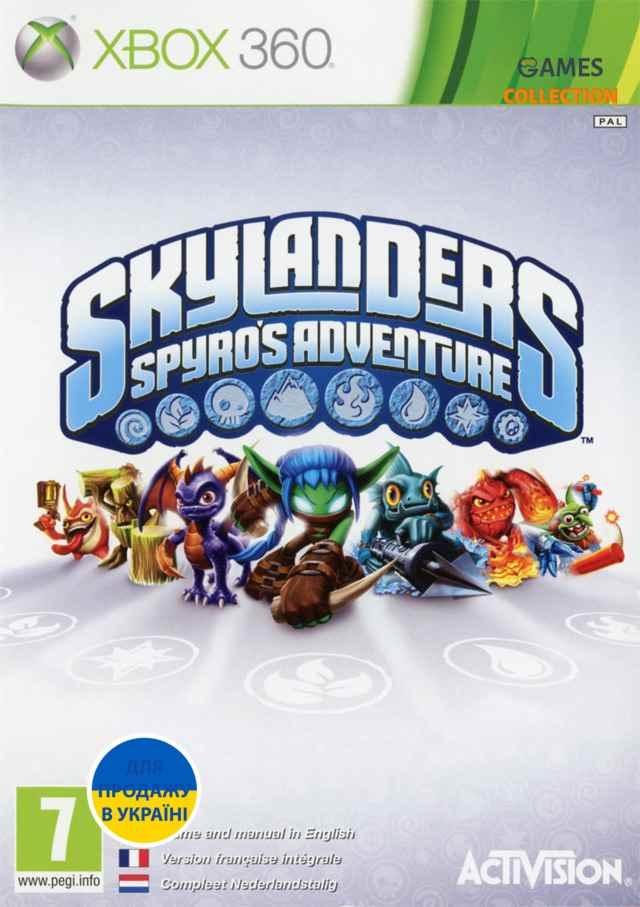 Skylanders: Spyro's Adventure (XBOX360)-thumb