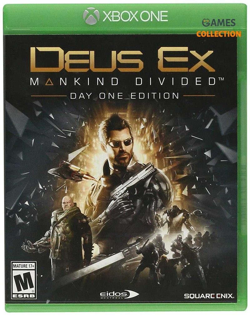 Deus Ex: Mankind Divided Day One Edition (XBox One) Б/У-thumb