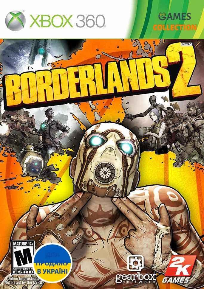 Borderlands 2 (XBox 360) Б/У-thumb