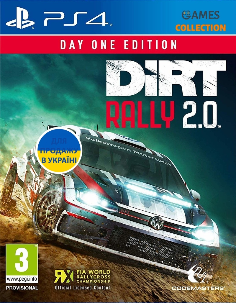 Dirt Rally 2.0 – Day One Edition (PS4)-thumb